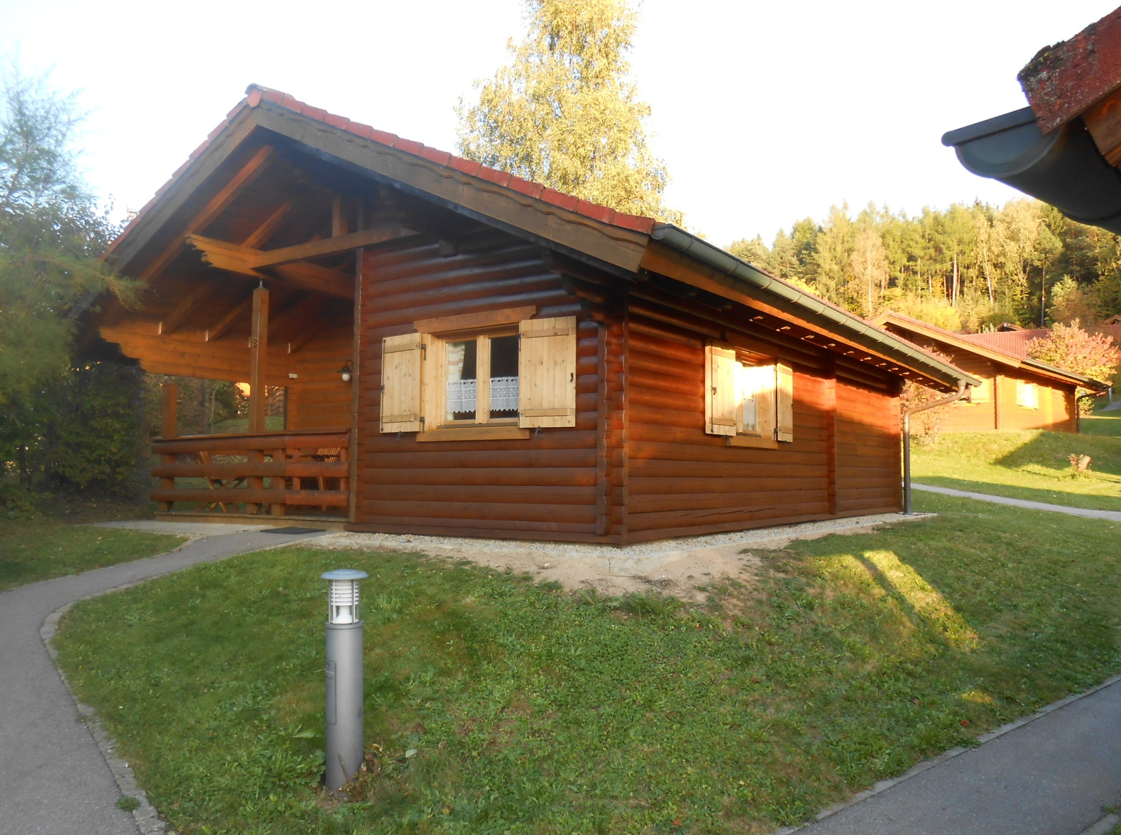 Blockhaus Huneke in Stamsried im Bayerischen Wald